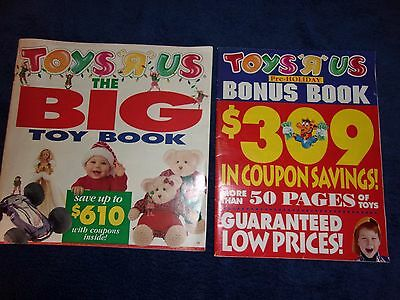 """Toys R Us  """"The BIG Toy Book 1994 (84 Pages) + 56 PAGE CATALOG"""