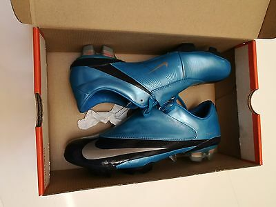 Rare!! New Nike Mercurial Vapor V FG Blue Azure Soccer Cleats US 8