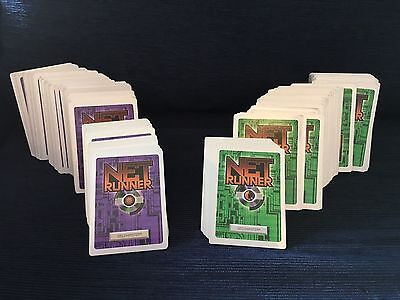 Over 300 Netrunner original 1996 cards - good condition - CCG
