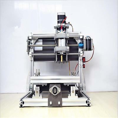 DIY desktop 3 Axis CNC engraving machine with GRBL control system