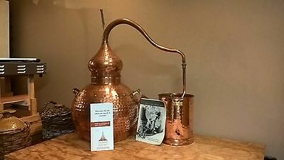 Handmade Copper Alembic 20L. Pot-Still