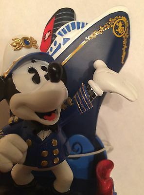 Disney Cruise Line Wonder 2016 Alaska Mickey Mouse Figure Cruise Ship