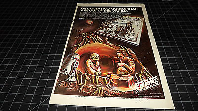 Vintage MPC Star Wars Empire Strikes Back PRINT AD 1981 RARE Model Kit Lucasfilm