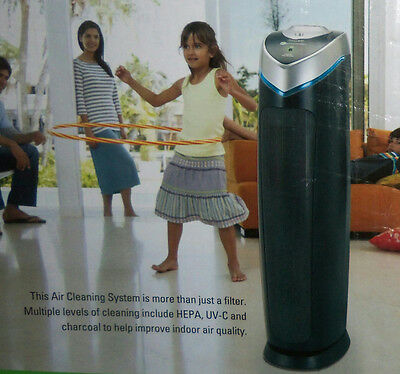 """NEW GermGuardian AC5000E 3-in-1 True HEPA Air Purifier System 28"""" Tower $180"""