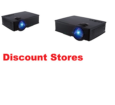 Home Movie Cinema Theater Outdoor Indoor LED Projector 1080P Portable 2000Lumens