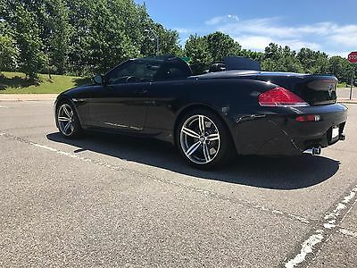 2007 BMW M6 Base Convertible 2-Door 2007 BMW M6 Convertible SMG Very Clean Car
