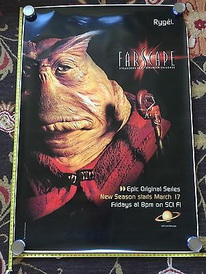 Farscape Rygel Bus Stop Poster 68inX47in