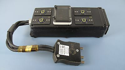 LEX PRODUCTS DB100A, Portable Power Distribution Box 100 A, 1 Phase 120V, 3 Wire