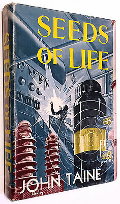 1951 John Taine Seeds of Life First Edition Book Fantasy Press