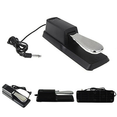 Piano Sustain Pedal Foot Switch Digital Stage Pianos Keyboards Synthesizer Music