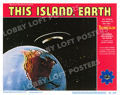 This Island Earth Lobby Scene Card # 5 Poster 1955