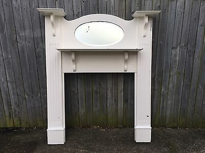 Federation Fireplace Mantle Mantel Original Fire Place Surround Solid Timber