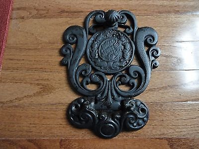 AntiqueDecorative  CAST IRON  - WALL DECOR
