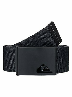 Quiksilver™ The Jam - Reversible Webbing Belt - Boys 8-16 - ONE SIZE - Black