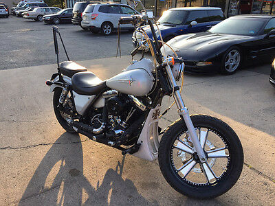 Harley-Davidson FXR  custom fxrs clean carfax softail cheap collector bike rare free shipping