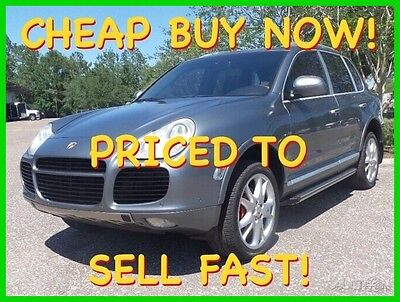 2004 Porsche Cayenne TURBO 450 HP AWD LOADED CHEAP BUY IT NOW 2004 PORSCHE CAYENNE V8 AWD 450HP TURBO NAV LTHR SNRF BOSE SHARP CHEAP BUY NOW