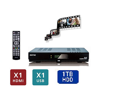 SONIQ T1000 PVR With 1000GB HDD High Definition personal Video Recorder