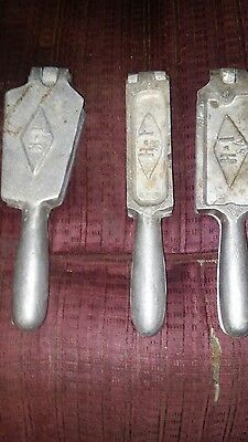 three pieces set of HL sinker molds for make your own sinkers for fishing