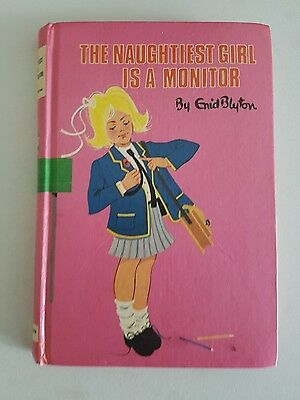 The Naughtiest Girl is a Monitor DEAN & SON childrens H/C Enid Blyton