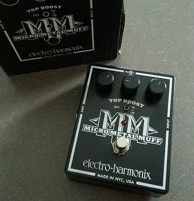 Electro-Harmonix Micro Metal Muff  Effect Pedal Distortion