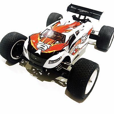 Losi Mini 8ight-T 1/14 Brushless RTR Remote Control Car Truggy w/ AVC & Spares