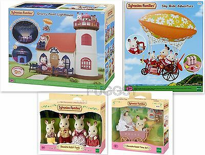 Sylvanian Families Starry Point Lighthouse + Sky Ride + Chocolate Rabbits 5267