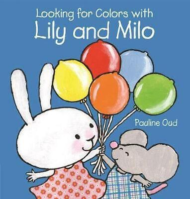 Looking for Colors With Lily and Milo Hardcover Book Free Shipping!