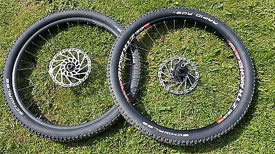 27.5 650b wheels and tyres, Stans ztr Arch ex and Commencal front wheel