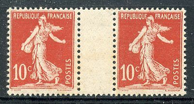 Stamp / Timbre De  France Neuf Type Semeuse N° 134 ** En Paire Millesime