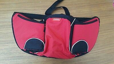 Phil & and Ted's Buggy / Pushchair Organiser Pouch/ Bag in Red