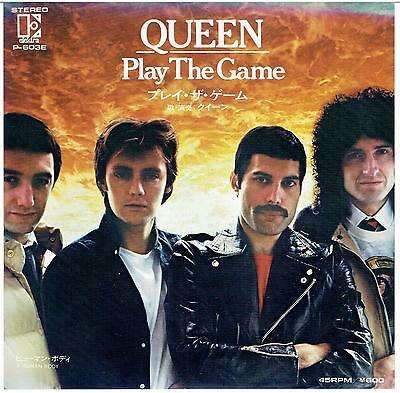"""Queen Play The Game Japan 7"""" P/s P-603E"""