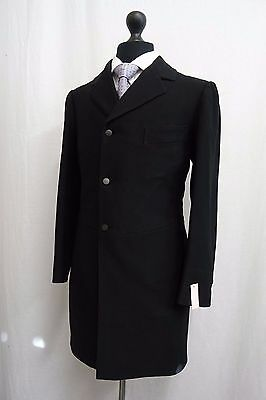 Men's Vintage Bespoke 1930's Morning Coat Tailcoat Size 36R SS9532