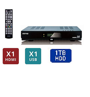 Set Top Box 1000GB HDD PVR Recorder with Twin HD Tuner 1080i   USB HDMI T1000
