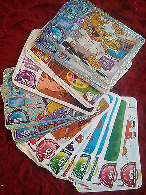 yoyo Bears Time Travel Adventure trading cards - Various to choose. *5 for 99p*