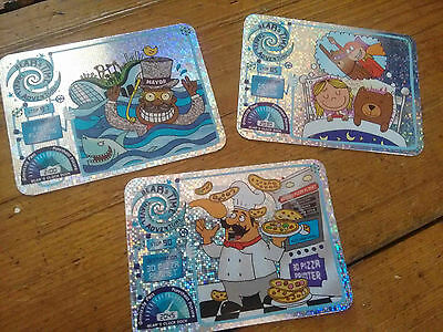 yoyo Bears Time Travel Adventure trading cards - Sparkles - No. 85.
