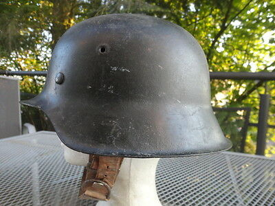 German WW2 WH helmet M1941,Original bell and inside,labeled EF64,Super condition