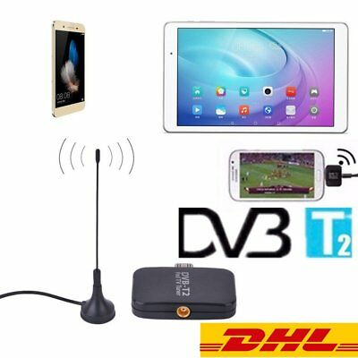 DVB-T2 Receptor Micro USB Tuner Mobile TV Receiver Stick For Android OS 4.1 U#P