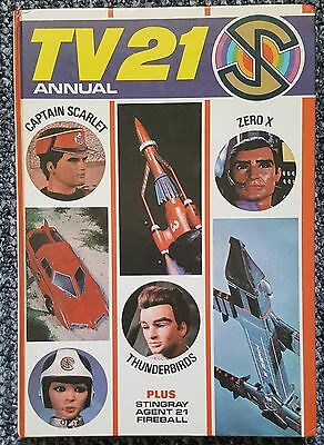 Vintage TV 21 Annual 1969/Thunderbirds/Captain Scarlet/Stingray FINAL REDUCTION