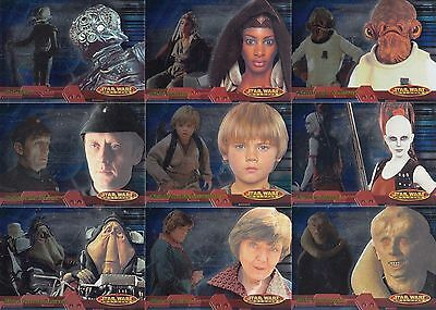 Star Wars Evolution - Complete Card Set (1-93) 2001 Topps @ Near Mint