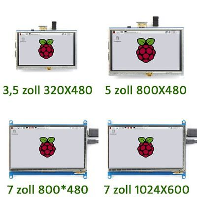 Neu Display für Raspberry Pi 3/ 2/ B+ 3.5'' bis 7''  LCD HDMI Touch Screen #P