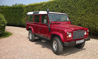 Land Rover Defender 110 300 Tdi Station Wagon CSW Galvanised Chassis