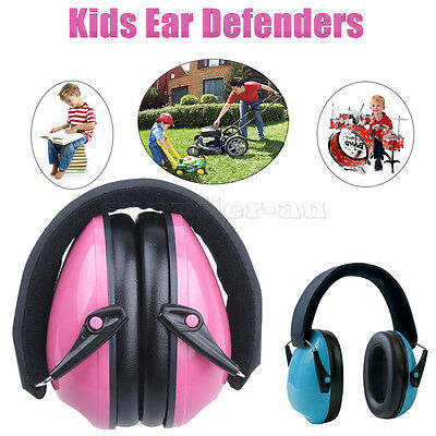 Safety Kids Hearing Protection Ear Muffs Noise Reduction Children Ear Defenders
