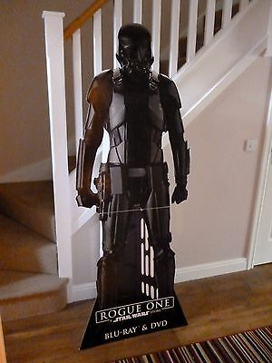 Star Wars Rogue One Imperial Death Trooper Lifesize Stand Up / Standee Cutout