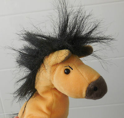 Spirit Stallion of the Cimarron Horse Soft Toy Beanie 26cm