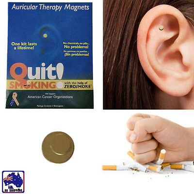Portable Auricular Therapy Magnet Stop Smoking Zero smoke Patch Health SPQS58209