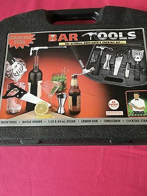 Novelty Bar Tools Bartender's Cocktail Set