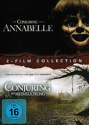 Annabelle / Conjuring (2-Film Horror Collection) 2 DVDs/NEU/OVP