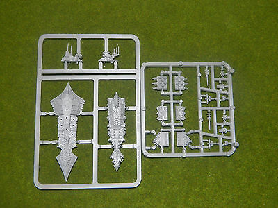 Battlefleet Gothic Chaos Cruiser Unbuilt On Sprues Ac986-941
