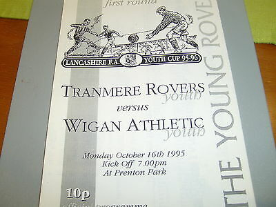 Tranmere v Wigan 95/96 LYCup
