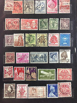 Australia Stamps Selection, fine used conditions, over 150 (set AUS2)